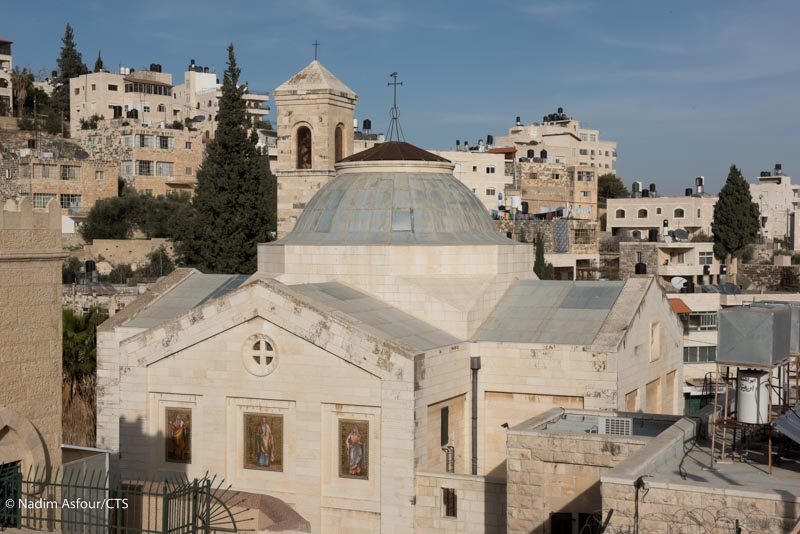 Traces of history in Bethany, where Lazarus was resurrected