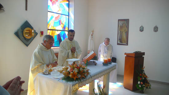 Inauguration of the new chapel of the Terra Sancta College