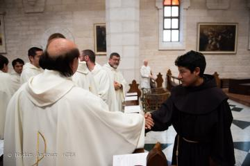 Friars Solemn professions